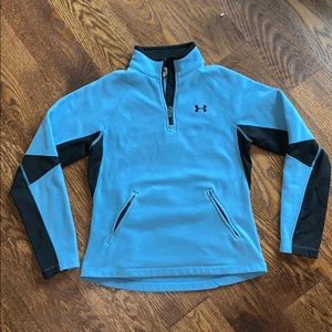 Under armour fleece pullover sweatshirt medium